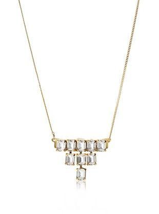 60% OFF a.v. max Rhinestone Fringe Necklace