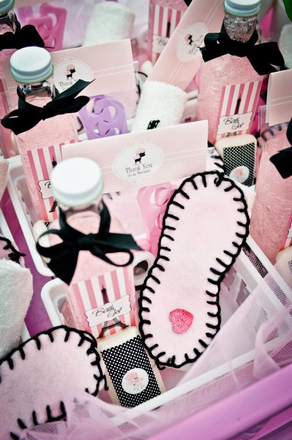 Paris Pamper Party Planning Ideas Supplies Idea Decorations Cake