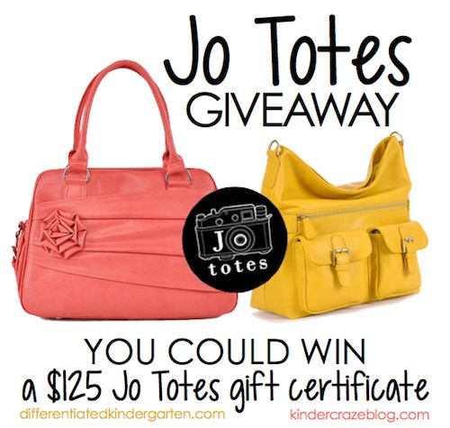 Enter to win a GORGEOUS Jo Tote camera bag