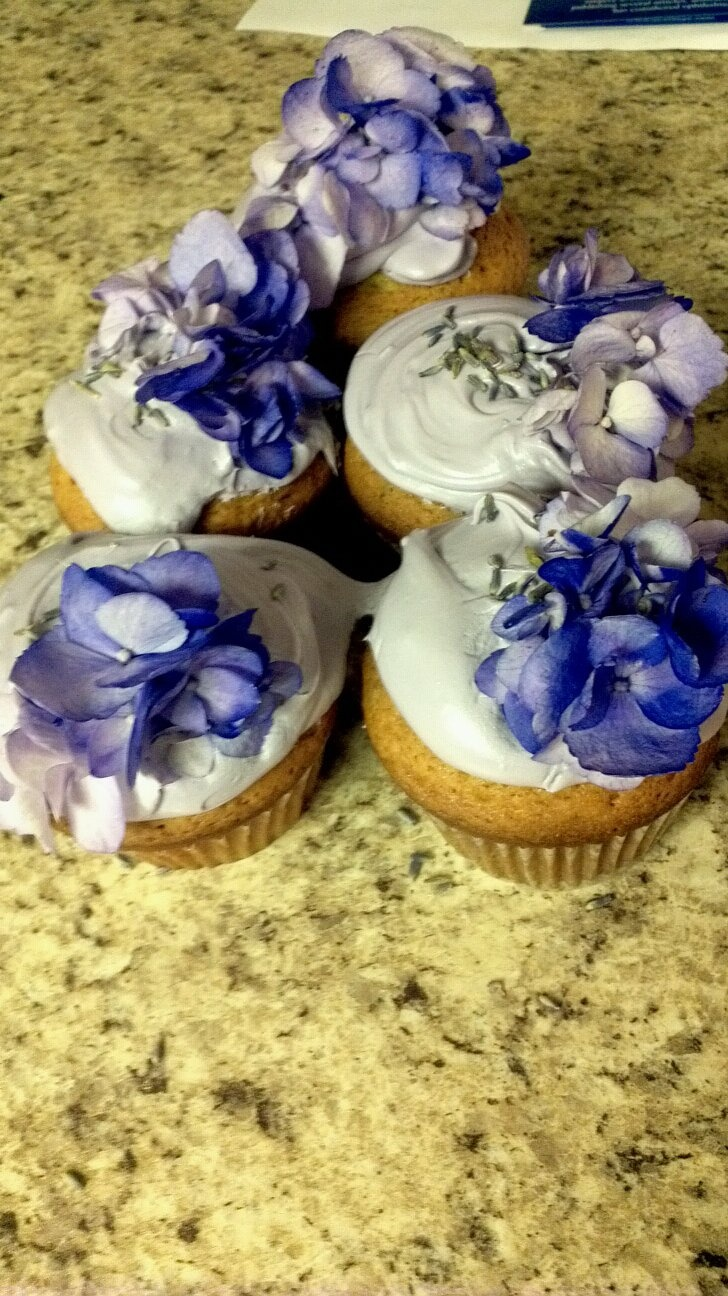 Lavender Cupcakes   Lavender ~ The Color, The Flower, The Fragrance ...