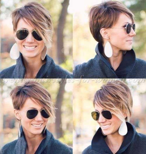 La mayoría Amado por las señoras cortas Cortes de pelo con flequillo //  #Amado…