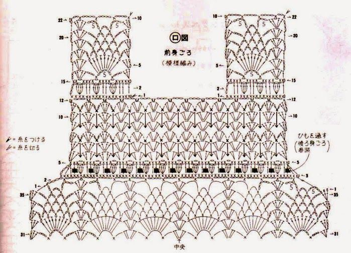 Crochet diagram free electrical work wiring diagram 1029 best crocheted tops images on pinterest crochet clothes rh pinterest com crochet diagram free scarf men crochet diagram free doily ccuart Choice Image