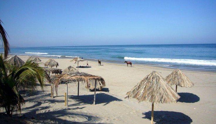 Las playas de Piura, Perú
