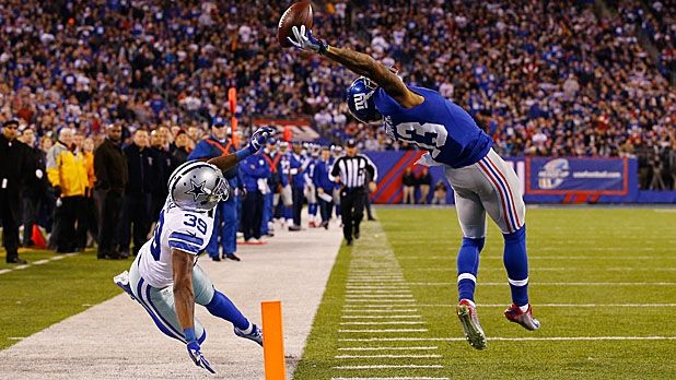 November 23: Odell Beckham Jr. makes one of the greatest catches ever