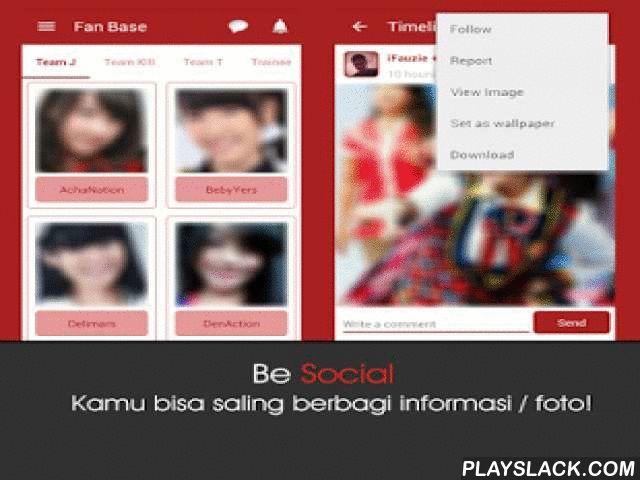 JKT48 Lovers  Android App - playslack.com , Aplikasi ini berisi semua konten mengenai JKT48.Kamu bisa melihat Video dan Profil lengkap semua member (Team J, Team KIII, Team T, Trainee, Transfered, Graduated) dan membaca Berita, melihat timeline Twitter JKT48, bermain Game JKT48, Gosip, Wota pedia, daftar Album JKT48, Lirik lagu JKT48 dan lain-lainnya.Kamu juga bisa saling berbagi dengan anggota lainnya melalui fitur Timeline/Fan Base atau men-download/ menjadikan wallpaper dari foto timeline…