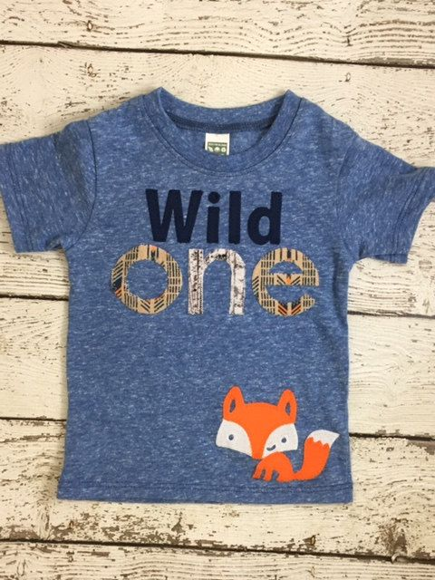 Wild one birthday shirt First birthday shirt by lilthreadzclothing