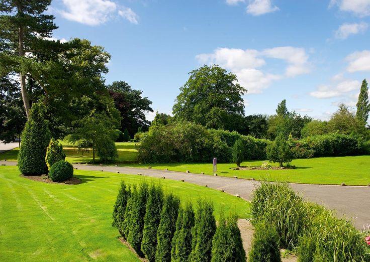 The grounds at Alvaston Hall