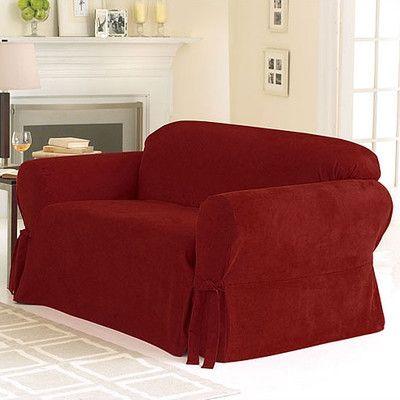 Sure Fit™ Soft Faux Suede Sofa Slipcover