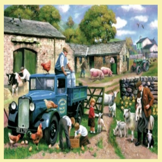 For Everything Genealogy - Spring Farm Animal Themed Maxi Wooden Jigsaw Puzzle 250 Pieces, $65.00 (http://www.foreverythinggenealogy.com.au/spring-farm-animal-themed-maxi-wooden-jigsaw-puzzle-250-pieces/)