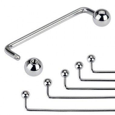 Staple Surface Surgical Steel Barbell  #bodyjewellery #tattooaddict #bodypiercing #buy #online #shop  #titanium #piercing #body #jewellery #surgicalsteel