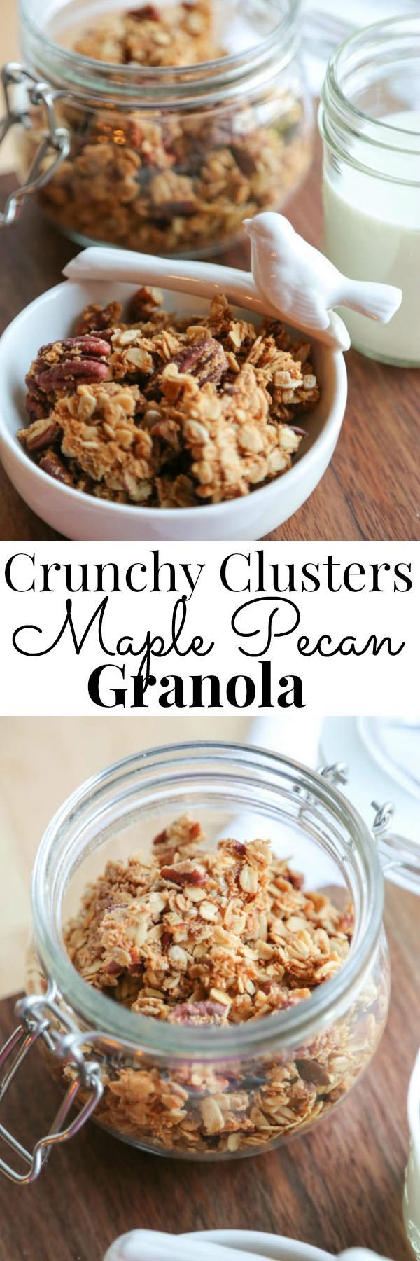 A fabulous grab and go snack everyone loves. The crunchy clusters are perfect for snacking alone, or in yogurt or milk. | Vanilla And Bean