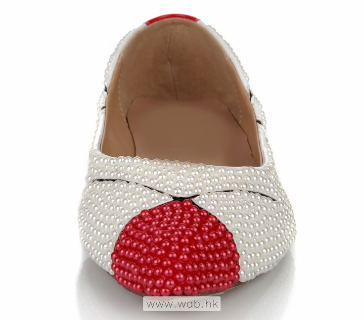 Comforts Multicolor Beads and Pearls Leather shoes $52.98