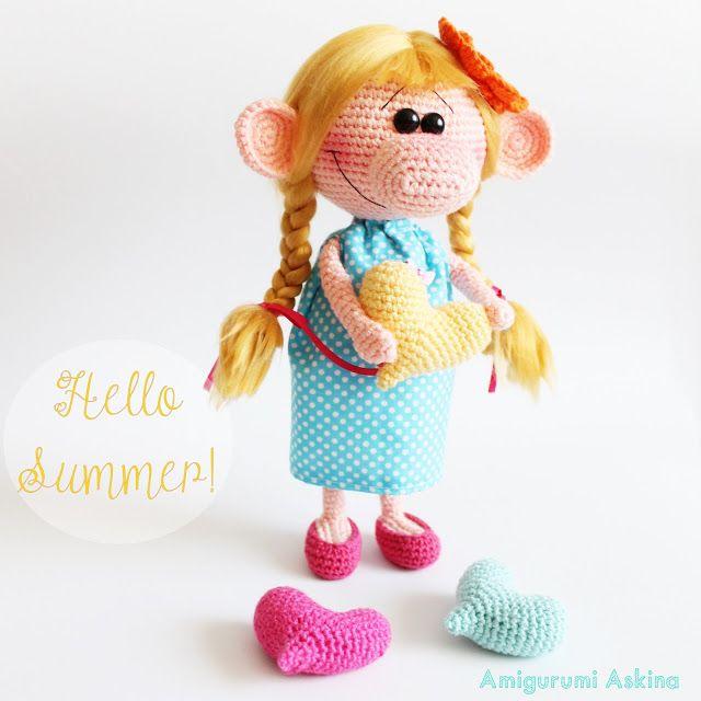 Amigurumi Aşkına: Amigurumi Bıcırık Bebek - Amigurumi Doll ☆