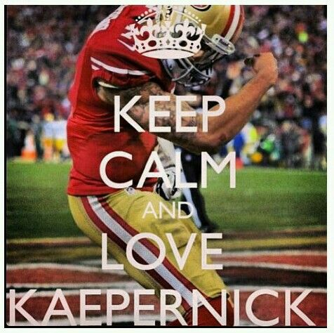 ok so I'm not a huge Kapernick/49ers fan, but they are one favorite!