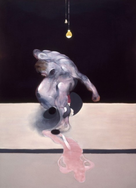 'Triptych (middle section)' by Francis Bacon (1974)