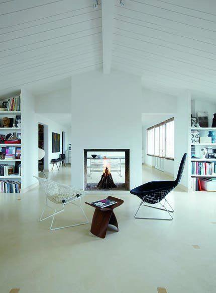 Une pièce à vivre spacieuse : côté salon