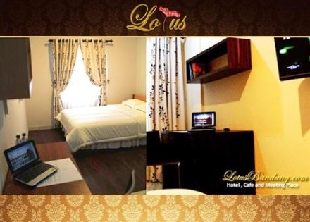 Vouchers Wisata : Disc. 63% Wisata Hotel Bandung 2D/1N di Lotus Hotel Bandung by. LaKupon.com