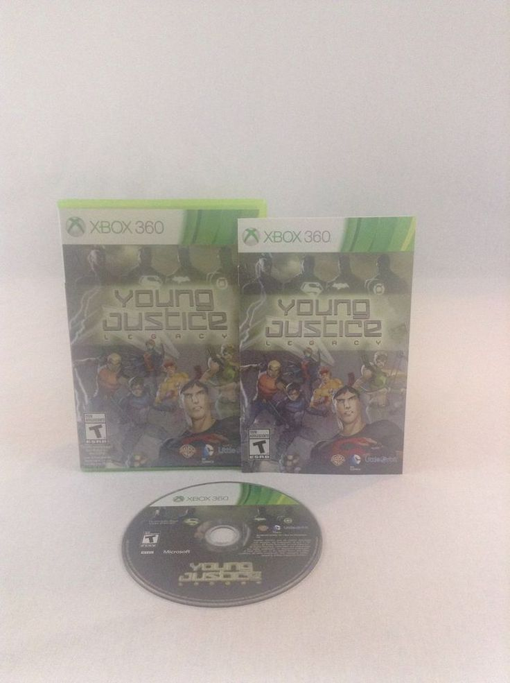 2013 Tested & Working Young Justice Legacy Xbox 360 Action Adventure Video Game #Xbox360