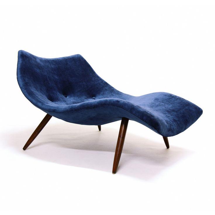 Rare Chaise by Adrian Pearsall for Craft Associates. Bidding Ends 20 November, 2014 - Bid Here - https://www.auctionstuff.co.nz/listing/y-AE616C1E-6C68-19B1-6DA0-3054904293F2