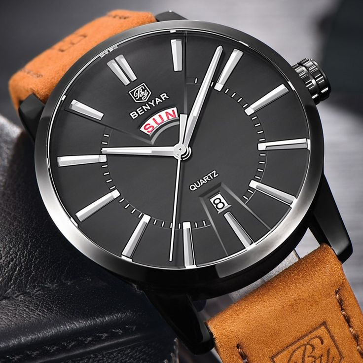 >> Click to Buy << BENYAR Brand Men Watches Popular Fashion Casual Leather Quartz Watch Men Wrist Watch Male Clock Relogio Masculino 2017 Hot Sale #Affiliate