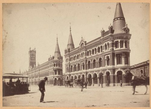 Lost Melbourne! Here are the Melbourne Fish Market buildings, which were demolished as part of preparations for the 1956 Melbourne Olympics