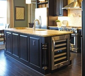 Wine Cooler Kitchen Island Google Search Kitchen