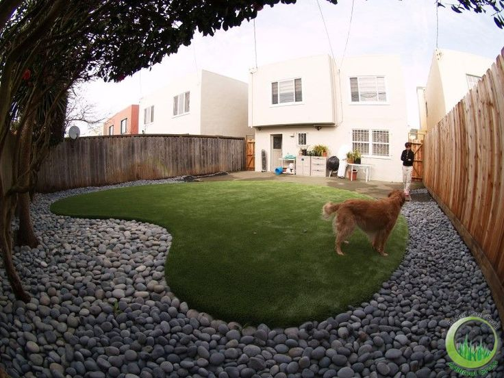 Better Than Real Artificial Grass - Synthetic grass, artificial grass and landscaping - Bay area San francisco, California .:. Proyect Dog running area with artificial grass installed in a backyard in San Francisco, California.