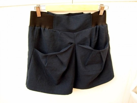 How to make a pair of fancy shorts – tutorial and free pattern