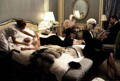 The original- 2005!  Makeover madness  Steven Meisel  for Vogue IItalia