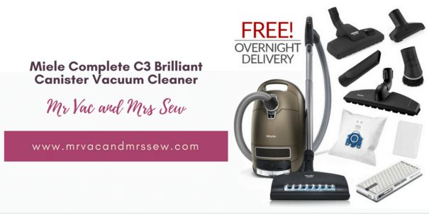 Which features make the Miele Brilliant Canister Vacuum Cleaner is one of the best cleaners in the market.