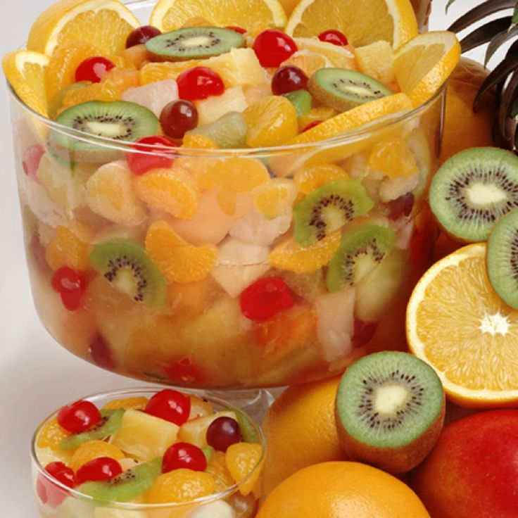This tropical fruit salad will have your mouth watering for more.