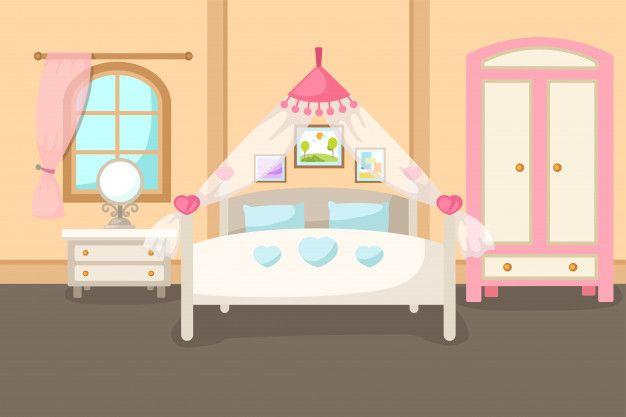 Ilustracion Vectorial De Un Interior De Premium Vector Freepik Vector Fondo Ninos Casa Dibuj Casas Para Armar Fondos De Casas Ilustracion Vectorial