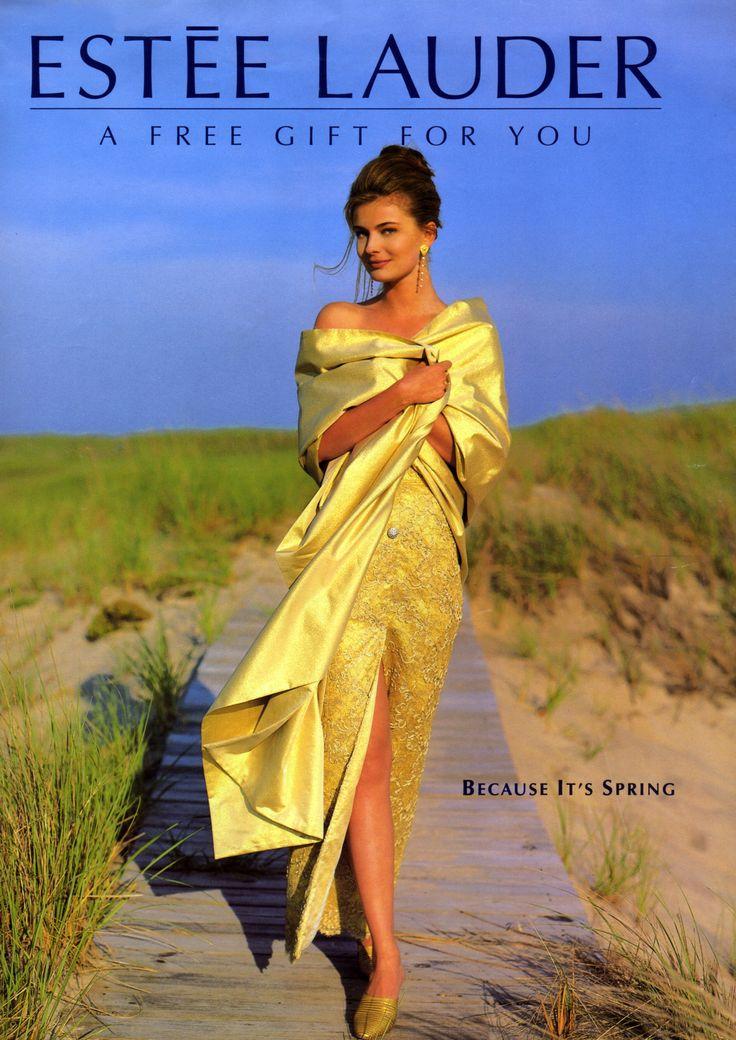 Here comes the Sun - A sunny Paulina Porizkova is all lights for Estée Lauder ad campaign