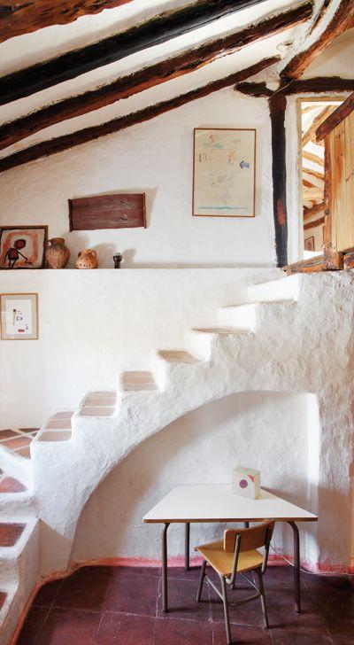 Las 25 mejores ideas sobre escaleras de patio en pinterest - Decoracion de casas de pueblo ...