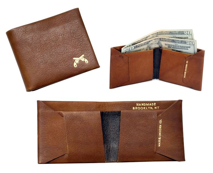Leather Wallet Pattern Template Mens leather wallet templates