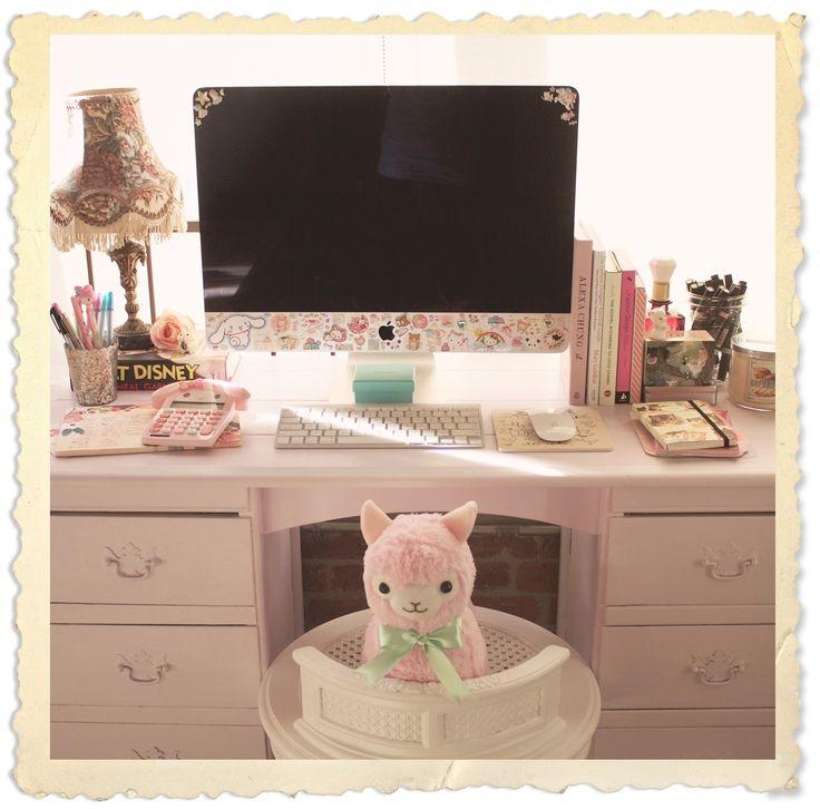 17 best ideas about cute desk on pinterest vanity desk for Cute vanity desk