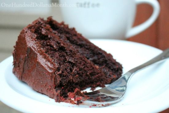 """The Best chocolate cake on the planet Earth""  [One Hundred Dollars a Month and Ina Garten]"