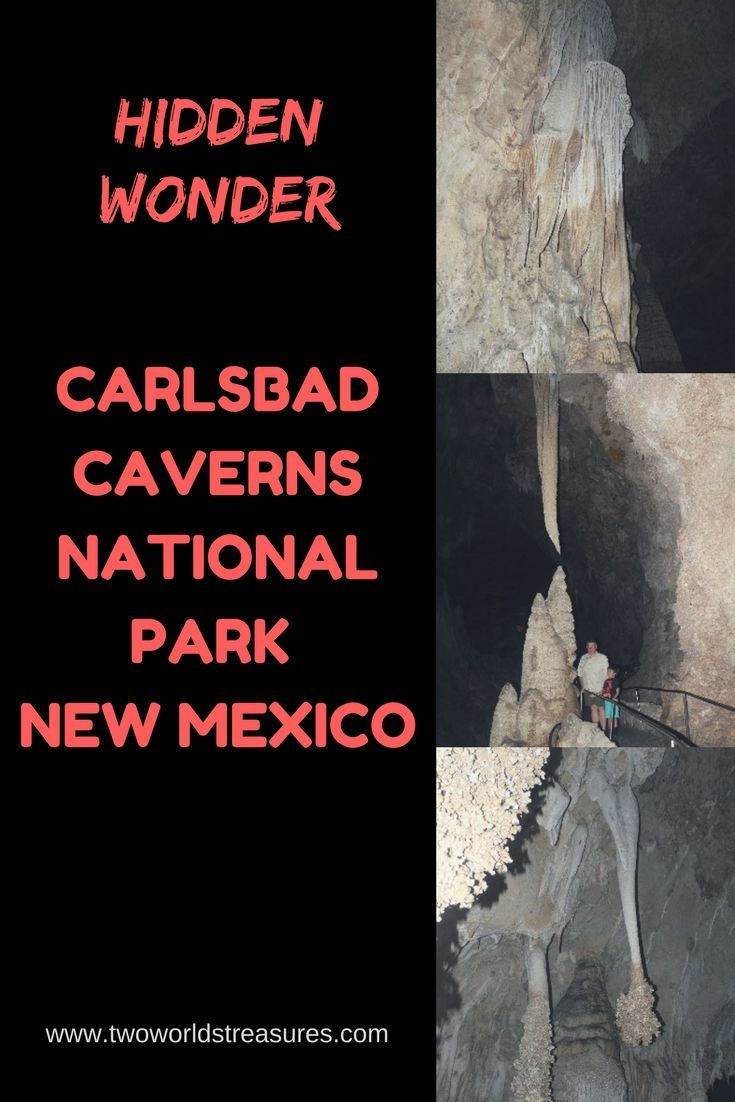 National Parks USA | Carlsbad Caverns | New Mexico | Spend a night or arrive early in the morning for a day visit.