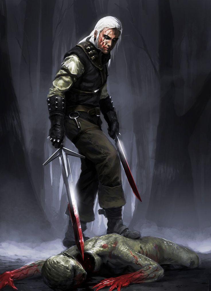 The Witcher by chasestone.deviantart.com on @deviantART