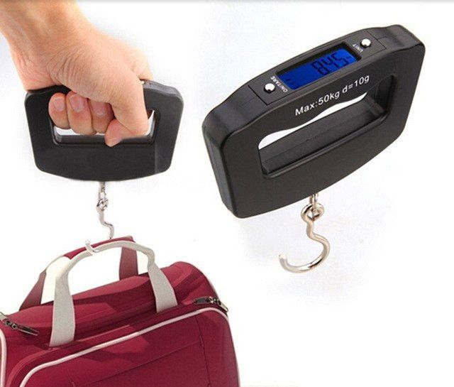 Electronic weight hook
