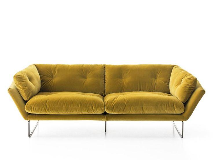 2 seater fabric sofa | Saba Italia