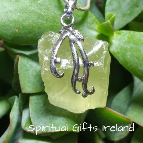Visit our store at www.spiritualgiftsireland.com  Follow Spiritual Gifts Ireland on www.facebook.com/spiritualgiftsireland www.instagram.com/spiritualgiftsireland www.etsy.com/shop/spiritualgiftireland   Chunky Lemon Quartz Pendant on Sterling  Chain   Lemon Quartz is a beautiful variety of yellow quartz. Yellow is the most vibrant of all the colours on the colour spectrum.  It signifies optimism, well being, blessings and hope that better days are here.  Lemon Quartz is all of those things…