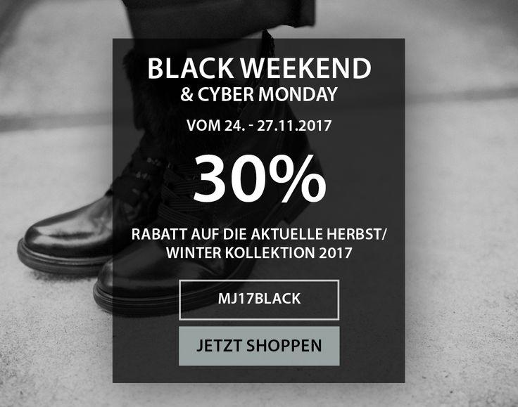 ⚫ Black Weekend & Cyber Monday ⚫ Kommendes Wochenende reduzieren wir ausgewählte Modelle um 30%! Der frühe Vogel fängt den Wurm. Schnell sein!