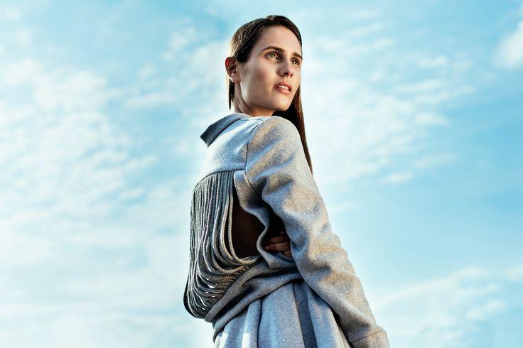 Fludra Slow Fashion sweatshirt, designer Anna Fludra