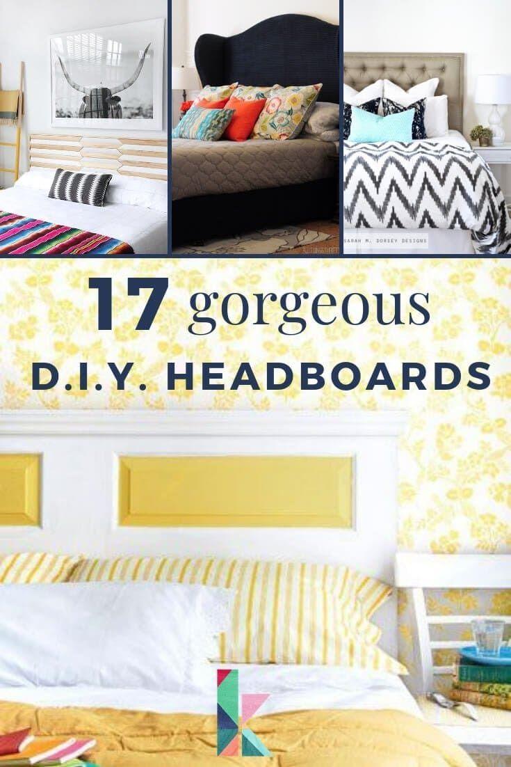 17 Gorgeous Diy Headboard Ideas Home Decor Unique Home Decor Diy Headboards