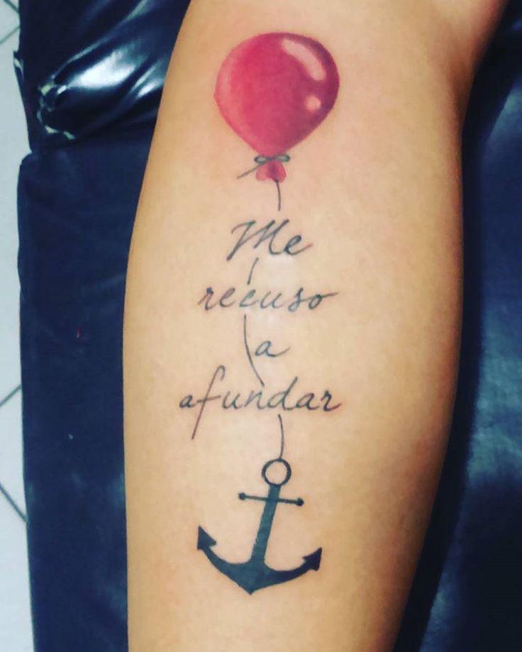 Zap 987302960   #tattoo #balão #tattoobalão #ancora #ancoratattoo #caligrafia #kariokatatuador #Salvador #cajazeiras #qualidade #segurança #comprometimento