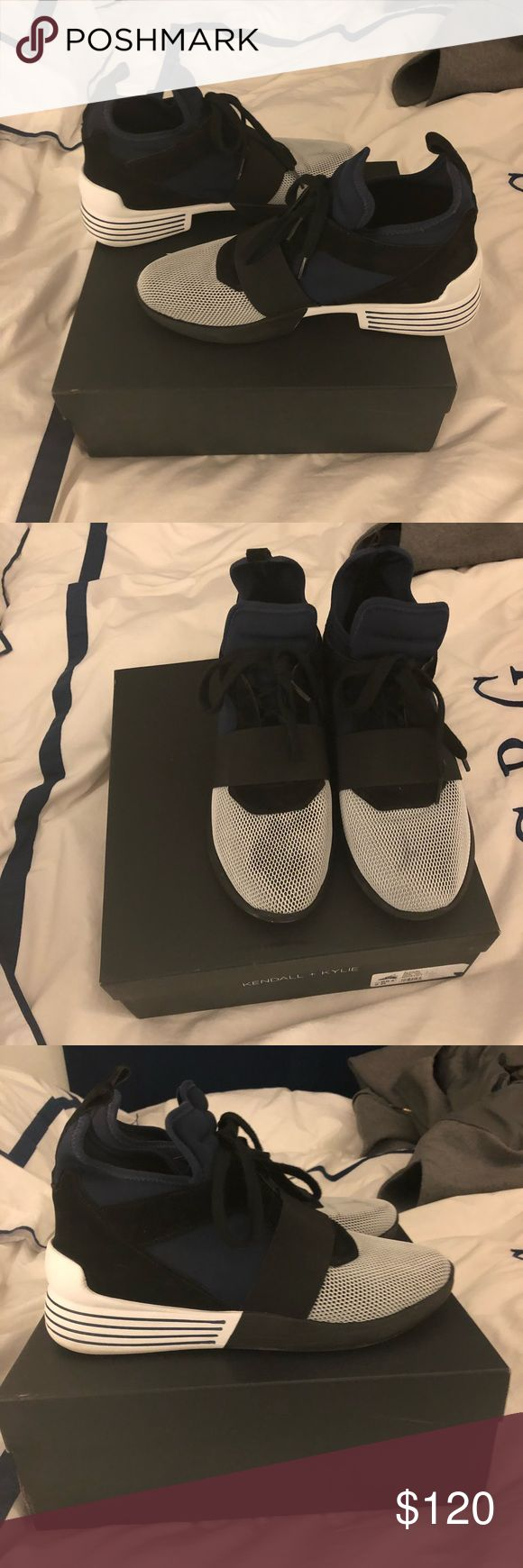 Kendall and Kylie shoes These shoes have been worn once Kendall & Kylie Shoes Sneakers