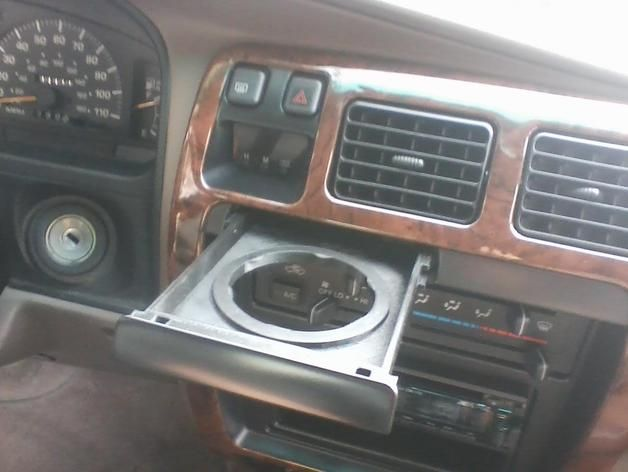 Made A Design For The Old Failing Cupholder In My 97 4runner It Is A Single Cup Holder And Is Designed For A Tapered Cu Toyota 4runner 4runner 3rd Gen 4runner