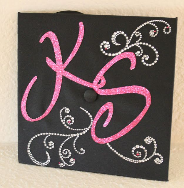 Graduation Cap Decoration - For Future Reference. Wish I had done this for EKU, hopefully I can do it when I finish nursing school! (Someday)