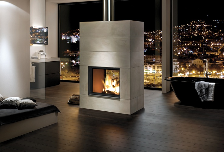 Gorgeous fireplaces from Brunner